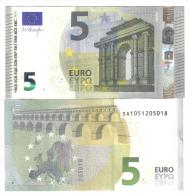 5 € New Mario Draghi SA S006A6 COD.€.006 - EURO