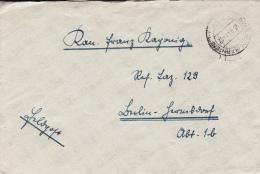 Feldpost WW2: To Reserve Lazarett 129 In Berlin Dtd Spanheim (Kärnten) 15.9.1941 - Letter Inside  (G44-3) - Militaria