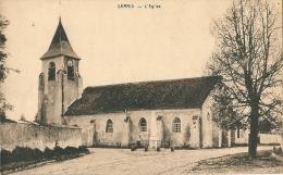CPA 77 SERRIS L'EGLISE    Petit Village - France