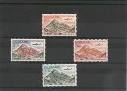 ANDORRE  Années 1961/64  P.A. N°Y/T : 5/8** - Poste Aérienne