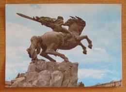 USSR Armenia Yerevan - Monument To David Sasunkiy Sasuntsi David Statue 1977 - Monuments