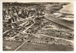 80 - ONIVAL (Somme) - Le Camping - Vue Aérienne - Ed. Cim Combier N° 46 A - Cpsm 1959 - Ault