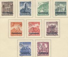 Besetzung Luxemburg Michel No. 33 - 41 gestempelt used