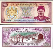Bhutan P 19 - 50 Ngultrum 1994 - UNC - Bhoutan