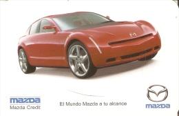CALENDARIO DEL AÑO 2001 DE UN COCHE MAZDA (CALENDRIER-CALENDAR) CAR - Calendarios
