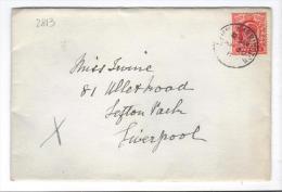 VER2813 - GRAN BRETAGNA 1911 , Lettera Per Liverpool . - Storia Postale