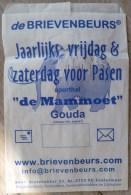 Fiche Publicitaire 23X15 CM  Publicité ENVELOPPE BRIEVENBEURS JAARLIJKS PASEN SPORTHAL DE MAMMOET GOUDA - Objets Publicitaires