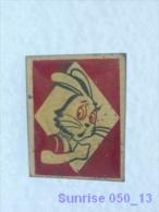 Cartoon Film Soviet: Wolf (Nu Pogodi) / Old Soviet Badge USSR _050_u3240 - Comics