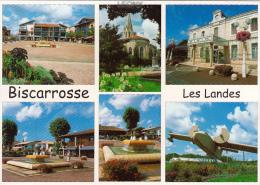 CPM De  BISCAROSSE PLAGE (  40)  - Capitale De L'HYDRAVION -Vues Diverses - - Biscarrosse