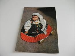 Costumi Sardi Ittiri  Bambina In Costume - Costumi