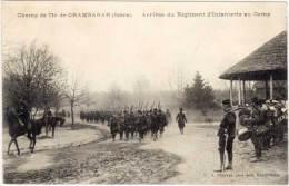 CHAMP DE TIR DE CHAMBARAN - Rrivée Du Régiment D' Infanterie Au Camp  (61377) - Autres Communes
