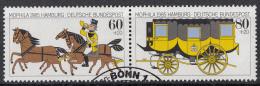 West-Duitsland - Internationale Briefmarkenausstellung MOPHILA ´85 Hamburg - O - Used - Michel 1255 - 1256  Zusamendr. - [7] West-Duitsland