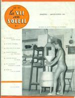 """Revue Naturiste - La Vie Au Soleil  """" Bimestriel - Jan - Fev 1964 """" N°91_ Dont Echos De L'ile Du Levant T - Erotic (...-1960)"""