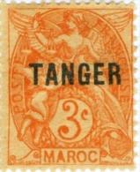 TANGERI, TANGER, MAROCCO FRANCESE, FRENCH MOROCCO, 1918-1924, FRANCOBOLLI NUOVI E USATI - Unused Stamps