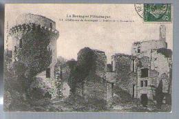 Jolie CP Ancienne 22 La Bretagne Pittoresque Château Ruines De La Hunaudaye - Ed A.W. 304 - écrite 31-12-1907 - France