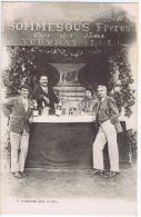 Vouvray , Carte Publicitaire De Sommesous Frères - Clos Des Lions - Vouvray