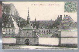 Jolie CP Ancienne 38 La Grande Chartreuse L'Entrée Du Couvent - Ed J.L. 68 - CAD 9-08-1907 Pour R. Papelard Paris - Chartreuse