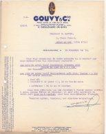 54 DIEULOUARD COURRIER 1931 FORGES & ACIERIES GOUVY & Cie  * K29 - Francia
