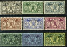 Nouvelle Hebrides (1925) N 91 à 99 * (charniere) - Nouvelles-Hébrides