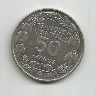 B2 Cameroon Cameroun 50 Francs 1960. KM#13 - Cameroun
