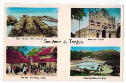 """ASIE VIÊT NAM  COCHINCHINE TONKIN  : """" Souvenir Multivue Hung Yen Dong Khe Cao Bang Bac Ninh Vietri Tho Son """"   """" - Viêt-Nam"""