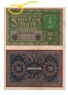 Allemagne - Billet 50 Marks 1919 , Reihe (=Série) 1 - [ 3] 1918-1933 : République De Weimar