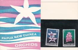 Papua New Guinea 1974 Flora & Fauna Orchids Pack PPNG 11 - Papua New Guinea