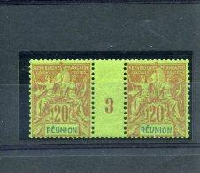 Réunion  _ Millésimes _Type Groupe _ 1893