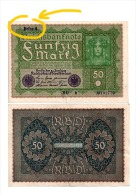 Allemagne - Billet 50 Marks 1919 , Reihe (=Série)  4 - 50 Mark