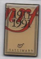 Beau Pin's , Média Editeur , Editions Gallimard NRF - Media