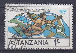 Tanzania 1984 Mi. 245    1 Sh Internationale Organisation Für Zivilluftfahrt (ICAO) Aviation Organisation - Tansania (1964-...)