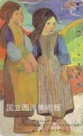 Télécarte Japon / 110-32738 - PEINTURE FRANCE GAUGUIN - Pont-Aven Bretagne - Japan Painting Japan Phonecard - 43 - Pintura