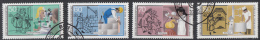 West-Duitsland - Jugend: Handwerksberufe - O - Used - Michel 1274 - 1277 - Gebruikt
