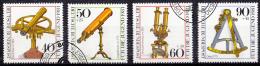 West-Duitsland - Jugend: Optische Instrumente - O - Used - Michel 1090 - 1093 - [7] West-Duitsland