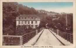 12 - La Salvetat - Porte De La Besse (colorisée) - Andere Gemeenten