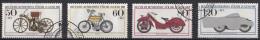West-Duitsland - Jugend: Historische Motorräder - O - Used - Michel 1168 - 1171 - [7] West-Duitsland