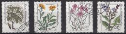 West-Duitsland - Wohlfahrt: Gefährdete Alpenblumen - O - Used - Michel 1188 - 1191 - [7] West-Duitsland