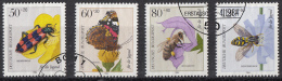 West-Duitsland - Jugend: Bestäuberinsekten - O - Used - Michel 1202 - 1205 - [7] West-Duitsland