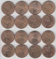 **** LOT 8 PIECES DE 10 FRANCS 1983 CONQUETE DE L´ESPACE **** EN ACHAT IMMEDIAT !!! - France