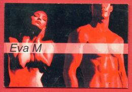 K22 / 2000 - EVA M , BEAUTIFUL NAKED MAN AND WOMAN - Calendar Calendrier Bulgaria Bulgarie Bulgarien - Calendarios