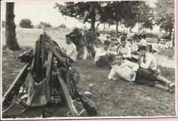 Photography - Army - Camping in Bizovac (20 km from Osijek), 1929., Kingdom Yugoslavia (8,5 x 5,5 cm)