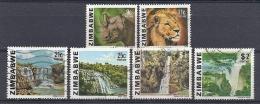 131007220  ZIMBABWE  YVERT   Nº  6/7/11/12/14/15 - Zimbabwe (1980-...)