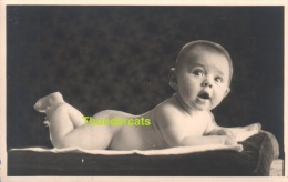 ANCIENNE PHOTO MONTAGE ENFANT BEBE GARCON NU ** VINTAGE PHOTO NUDE BOY - Personnes Anonymes