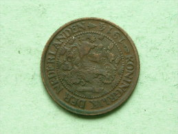 1914 - 1 Cent / KM 152 ( Uncleaned - For Grade, Please See Photo ) ! - 1 Cent