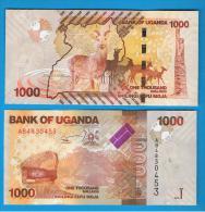 UGANDA - 1000 Shilling  2010 SC - Uganda