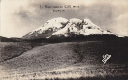 Equateur - Ecuador - Volcan - Volcano - Chimborazo - 6 310 M - Foto Pazmino - Ecuador