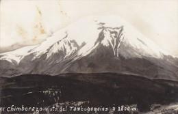 Equateur - Ecuador - Volcan - Volcano - Chimborazo Visto Del Tambo Poquios - Ecuador