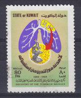 Kuwait 1982 Mi. 933     80 F Entdeckung Des Tuberkulose-Erregers Durch Robert Koch - Koeweit