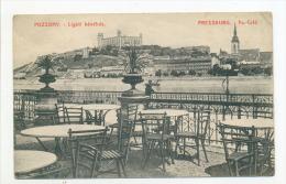 Pozsony Bratislava Ligeti Kávéház Caffehaus Caffehouse Pressburg - Slovaquie