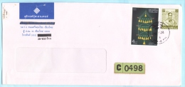 THAILAND SIAM - Brief Cover Lettre 993 1408 König - Zimmerschmuck    (2 Scan)(30059) - Thaïlande